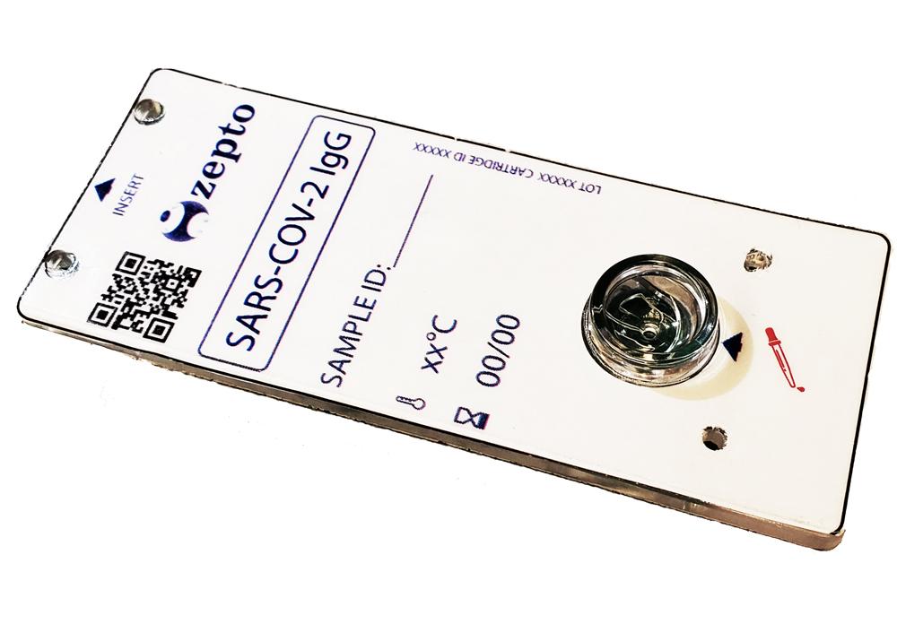 Zepto Automated IgG Cartridge